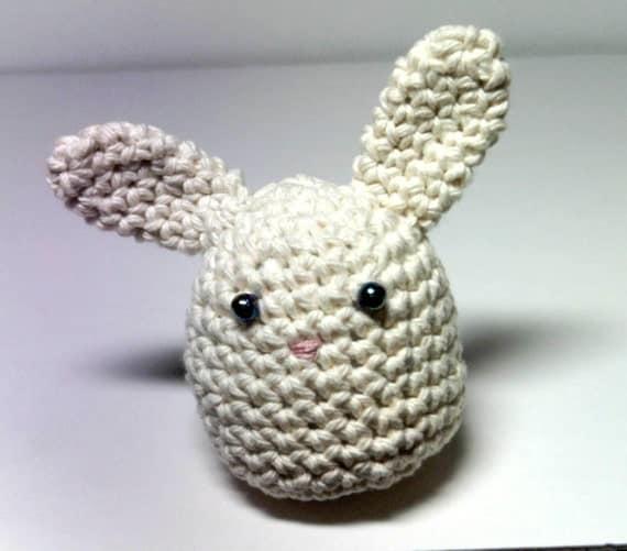 Miniature Crocheted Bunny Rabbit