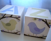 Bookends for Children- LOTSA DOTS BIRDS Theme