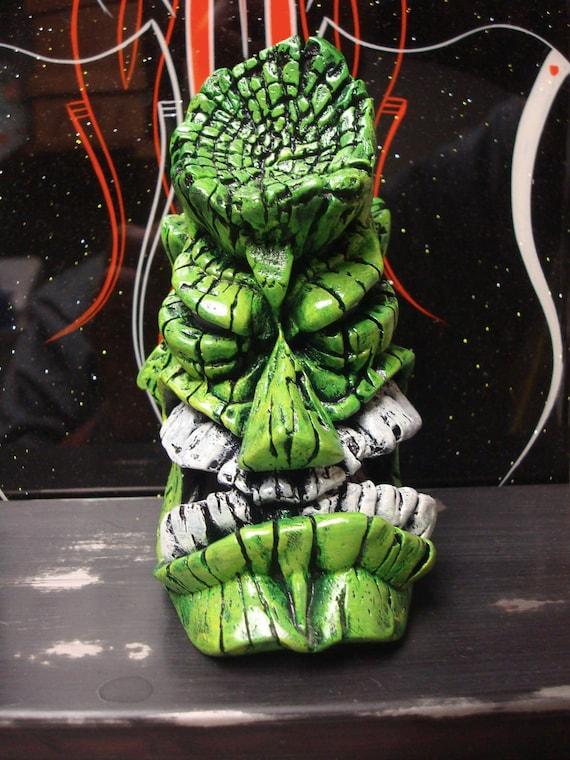 Green Terror Tiki shift knob