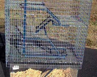 10 gal 4 Story High Rise Aquarium Cage Topper Critter
