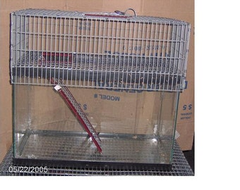 30 or 40 Breeder 1 Story Aquarium Cage Tank Topper gerbil rat hamster degu Top Door