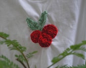 Christmas crochet tees