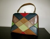 RESERVED FOR JO Faux Leather Purse 1960s