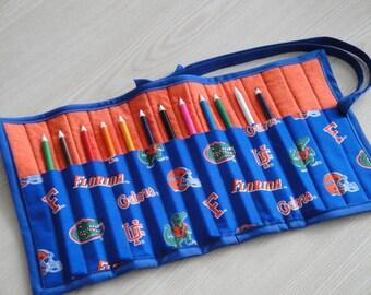 Florida Gators Pencil / Marker Roll