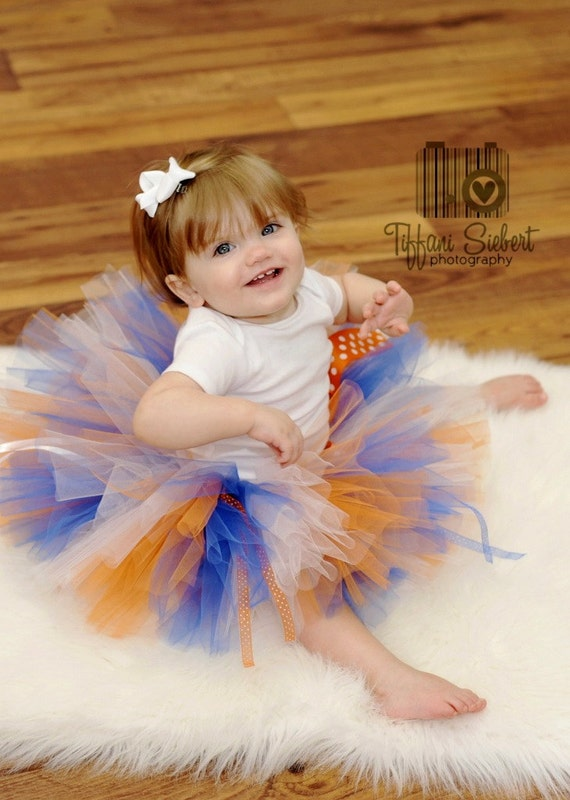 SALE Gator Girl Tutu - Any Size Newborn - 5T