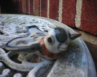 vintage bird ceramic made in mexico