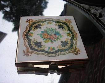 vintage compact mirror