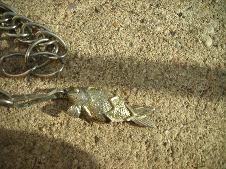 Vintage chain belt with fish hook for Fish hook belt
