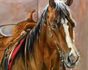 Ranch Horse Print