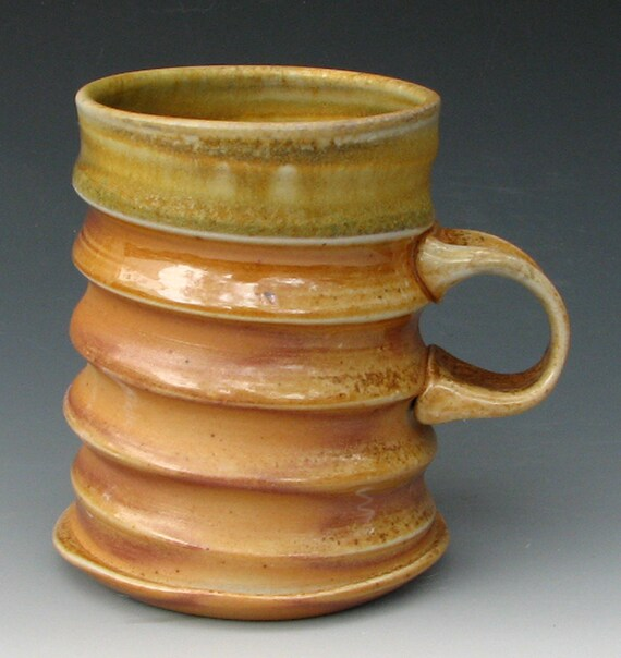 Wood Fired, Ash Glazed Coffee Mug 8