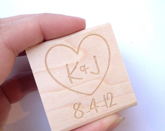 Reserved. Custom Rubber Stamp. 2.5 x 2.5 Made to Order. Custom DIY wedding decor.