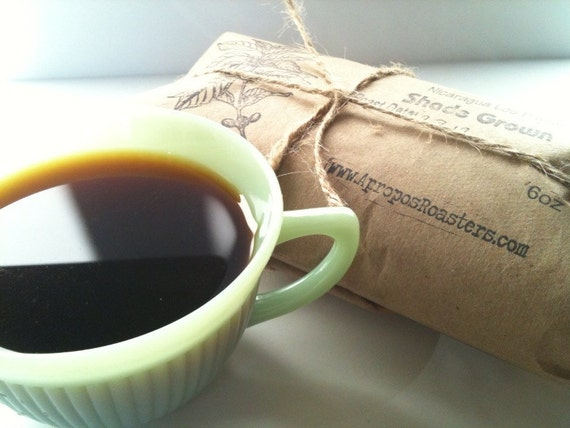 READY TO SHIP Father's Day Gift Idea. Coffee of the Month Club. One Year of Freshly Roasted Coffee. 6 oz/mo.
