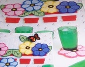 Flowerpot Coaster Set