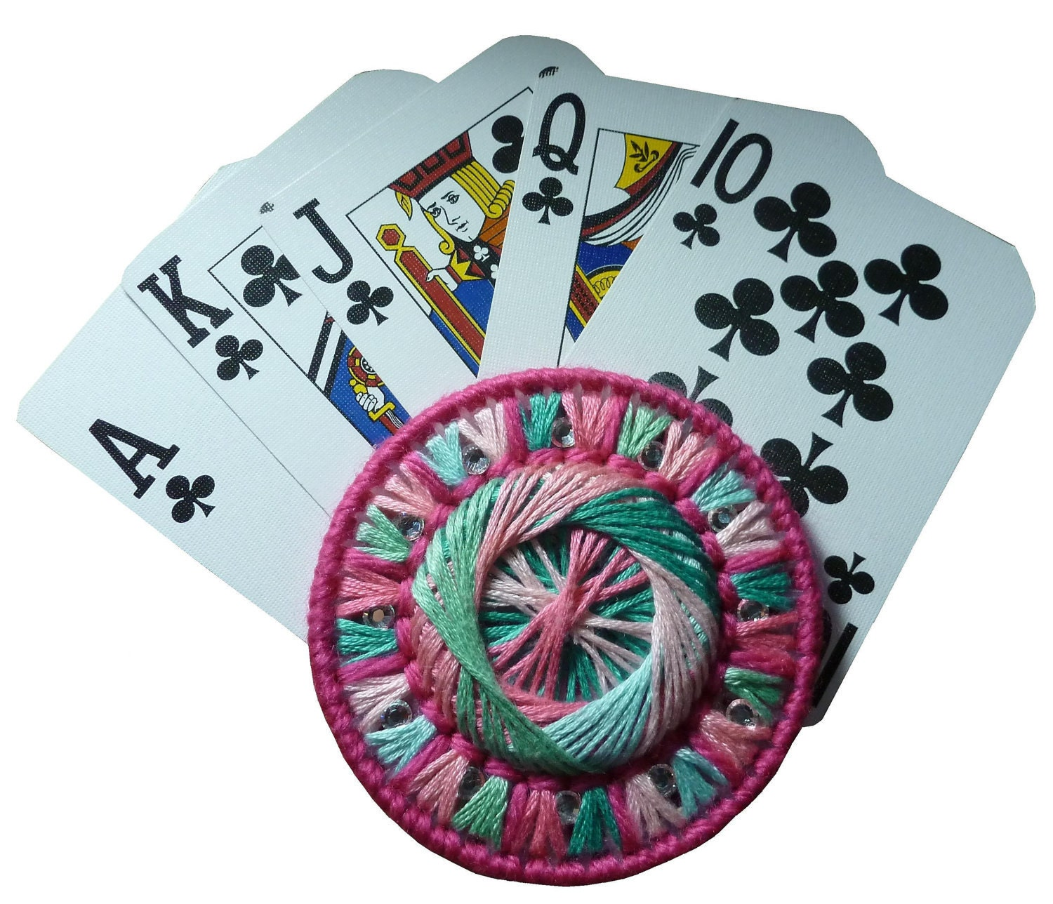 Plastic Canvas Play With Pizzazz Playing Card Holder PDF