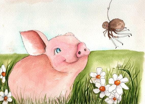 Friendship - Original Watercolor Illustration