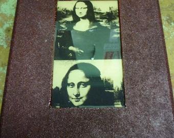 Upcycled Mona Lisa Jewelry Box