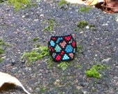 Stained Glass Ring Pattern