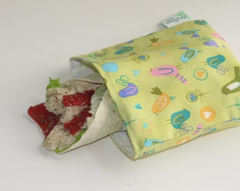 Reusable Sandwich Bag - Dawn Birds