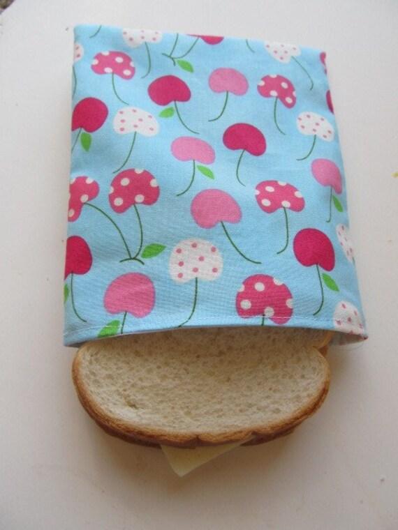 Homemade Reusable Sandwich Bag - Metro Market Cherries