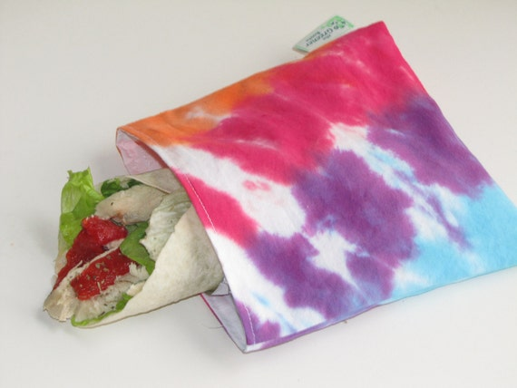 Reusable Sandwich Bag - Tie Dye