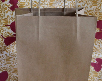 Paper Gift Shopping Bag with Handles