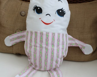 Humpty Dumpty Doll Pillow / Lovey Baby Toy