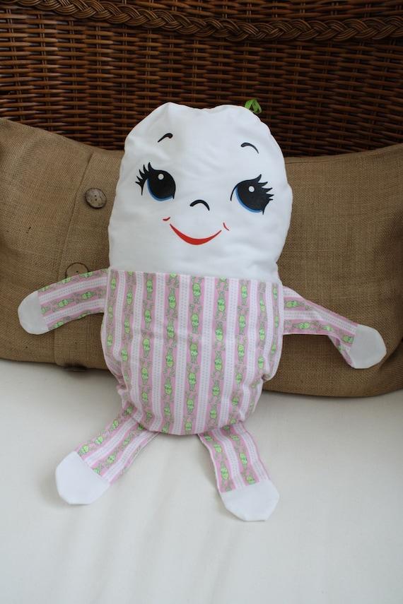 Humpty Dumpty Doll Pillow / Lovey Baby Toy
