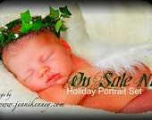 Sale... Baby  Cherub Angel Wings for professional photography prop ... newborn boy or girl perfect baby shower gift