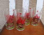 MINT RARE Swanky Swig Set of 4 Barnyard Glasses