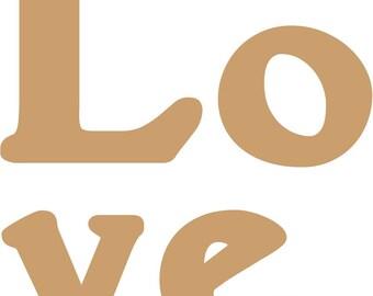 "CUSTOM Wedding Guest Book Registry Puzzle - ""Love"" 70 Piece Puzzle (70-100 guests)"