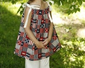 Pillowcase Dress - Patriotic Quilt - Special order for Janice Dunkle