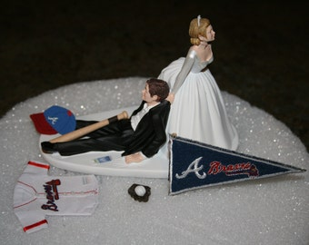 Dallas Cowboys Wedding Cake Topper Bride Groom By Finsnhorns