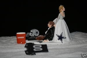 wedding cake toppers dallas tx dallas cowboys wedding cake topper groom football jersey 26447