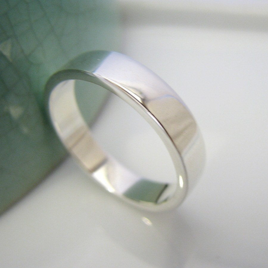 evermore wedding band white gold over sterling silver