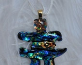 Ahnah - Inukshuk (Blue/Turquoise/Bronze)