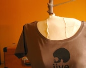 Medium - Jive - Original Screen Printed Organic Cotton Tee