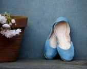 soft leather ballet flats. Love Chopin. size 9.5