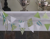 Cool Coastal Breeze Banner   with Bows     wedding  shower  party decor