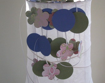 Circles and Flowers Banner Garland