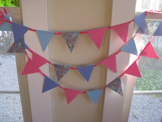Blue Berry Pink  Banner   Party   Dorm room
