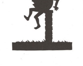 Humpty Dumpty Mother Goose Collection silhouette
