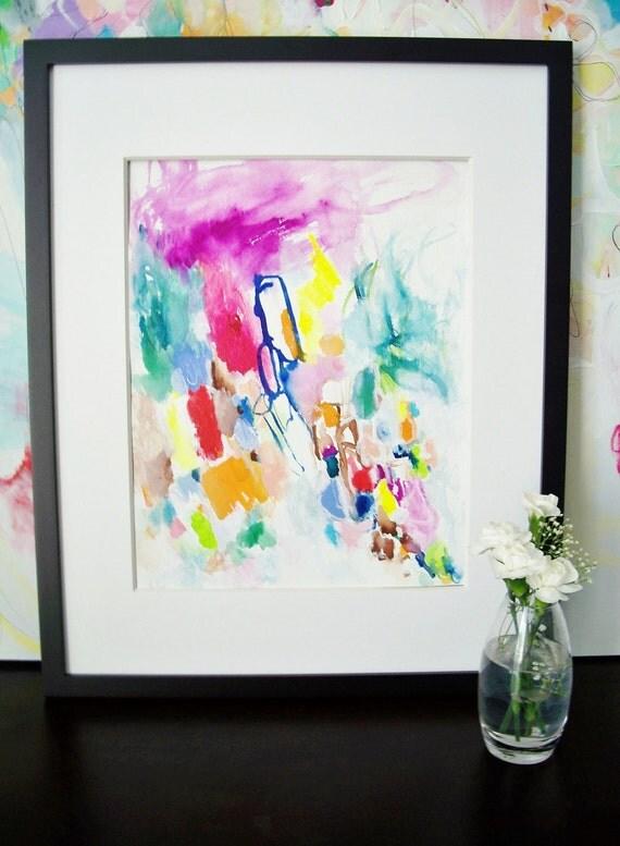 Joyride- Original Painting-11x15- Fresh, Bright, Beautiful