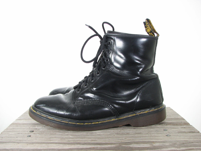 mens 90s black dr martens grunge boots 11