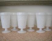 Milk Glass Tumblers