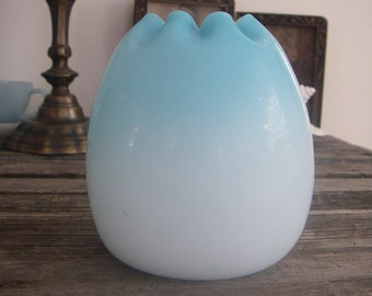 Antique Satin Glass Vase