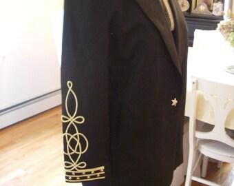 Vintage 80's captains jacket