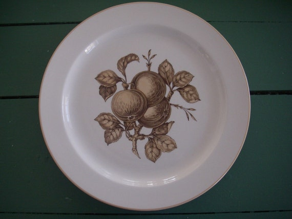 Copeland Spode Apple Harvest Plate