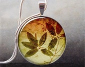 Autumn Leaves pendant, leaf necklace charm, leaf jewelry, leaf jewellery, tree jewelry - thependantemporium