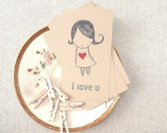 Love Stationery Set . Digital Collection . Mayi Carles