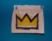 Basquiat Crown Patch
